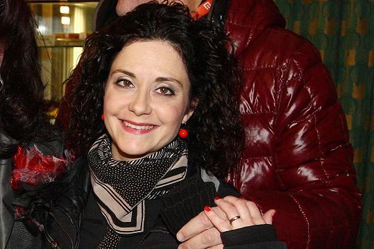 Lucia Šoralová je vdanou paní.