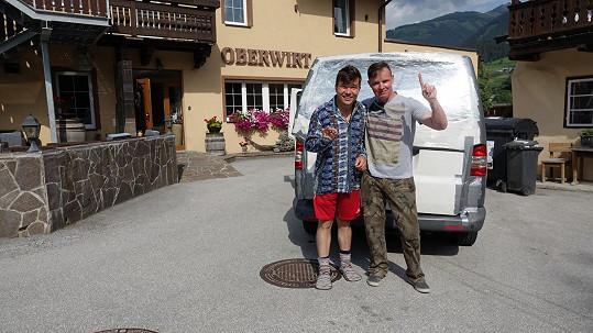 Výletu, který zorganizoval zpěvák Martin France, se slovenský jmenovec nakonec zúčastnil.
