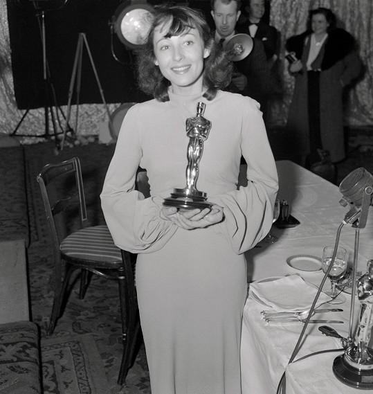 Luise Rainer získala dva roky po sobě Oscara.