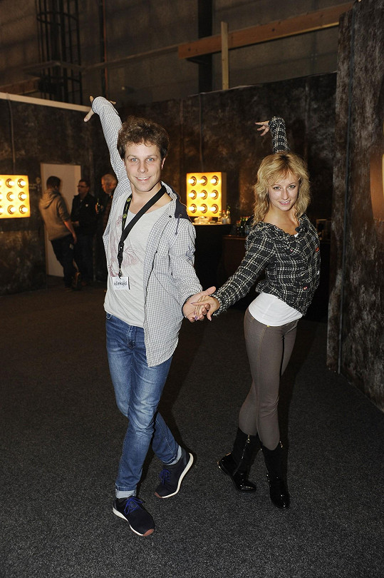 Jan Onder s životní partnerkou Lucií Hunčárovou