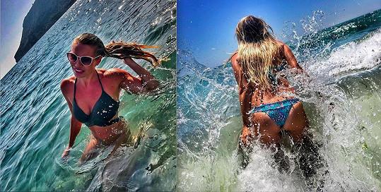 Díky zdravému přístupu k jídlu a pohybu se klidně může nechat nafotit v plavkách.