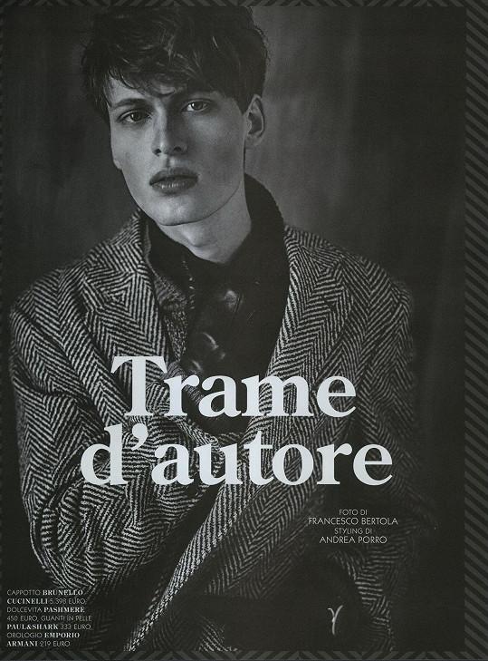 V italském módním časopise