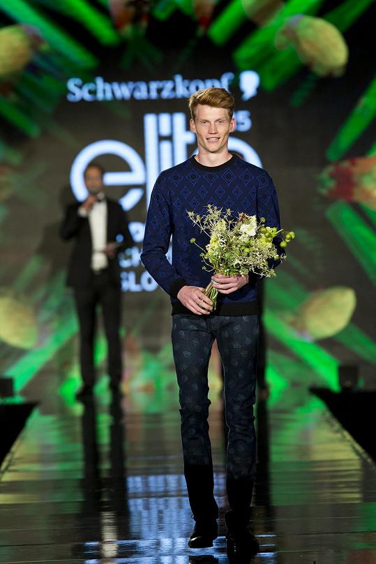 Kristian Černík zvítězil v českém klání prestižní modelingové soutěže Schwarzkopf Elite Model Look.