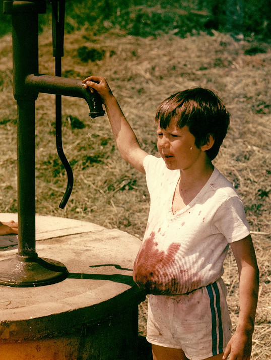 Tomáš Holý ve filmu Setkání v červenci (1978)