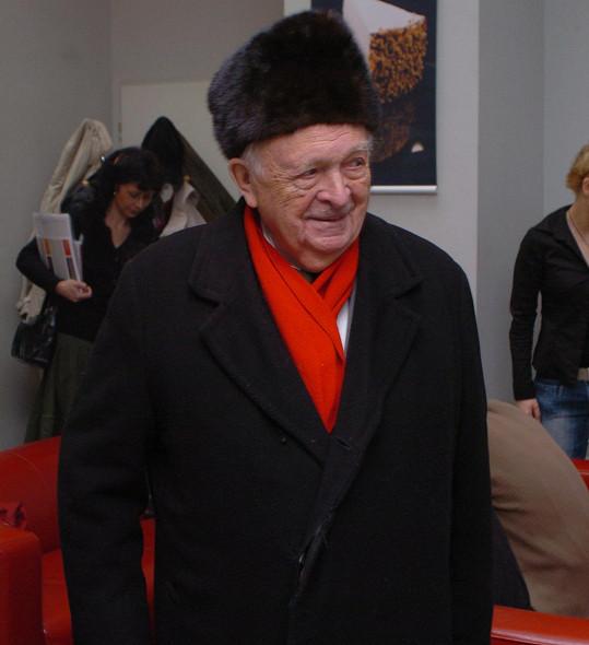 Otakar Vávra režíroval desítky slavných filmů.
