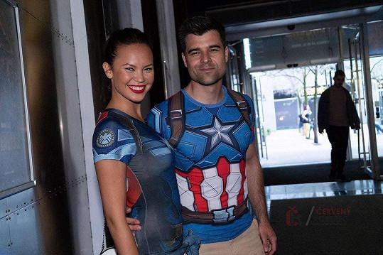 S manželem ve stylu Captaina Ameriky
