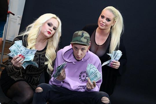 Monika Štiková, Charlotte Štiková a její přítel jsou hvězdami show Štiky.