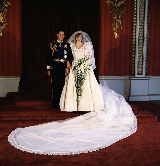 Ikonicke Svatebni Saty Lady Diany Se Vratily K Williamovi A Harrymu