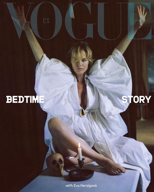 Na obálce česko-slovenské mutace Vogue