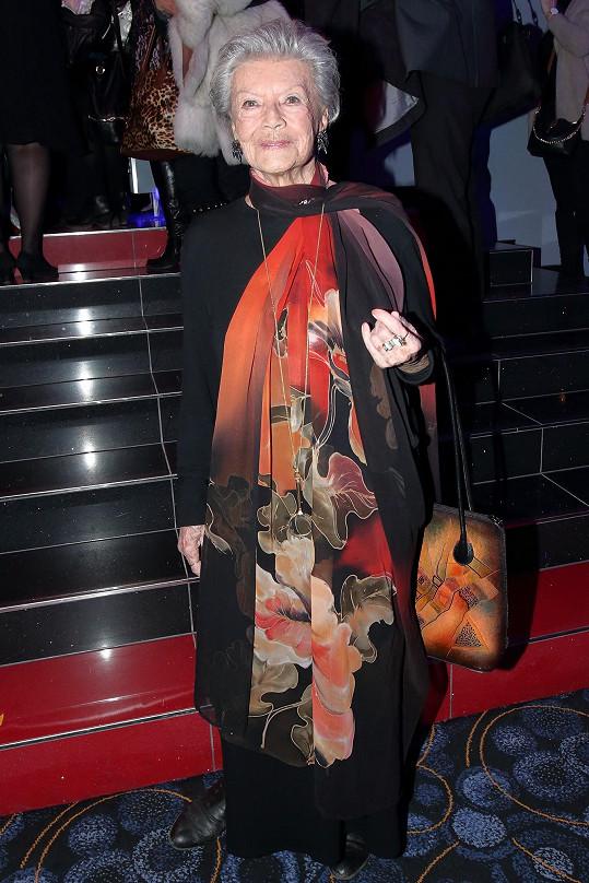 Zdenka Procházková by si ráda ještě zahrála v nějakém filmu.