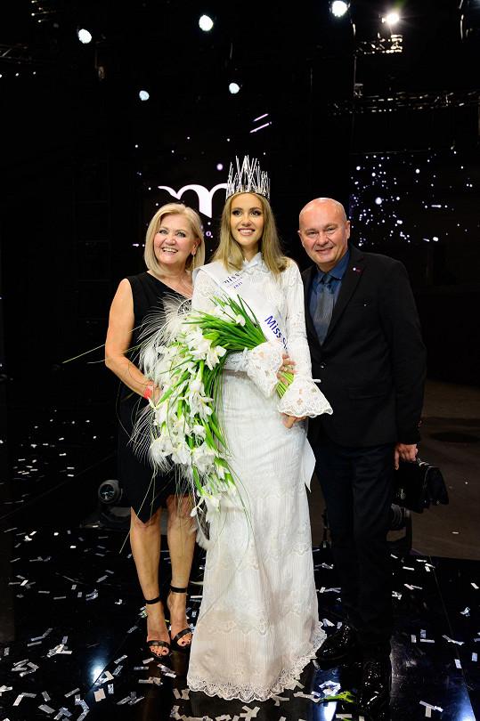 Miss Slovensko 2021 s rodiči