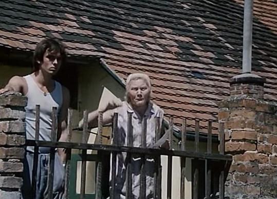 Marie Pilátová se svým filmovým synem Vaškem