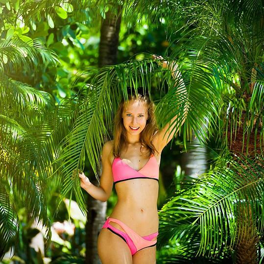 Denisa Grossová si vyzkoušela roli modelky.