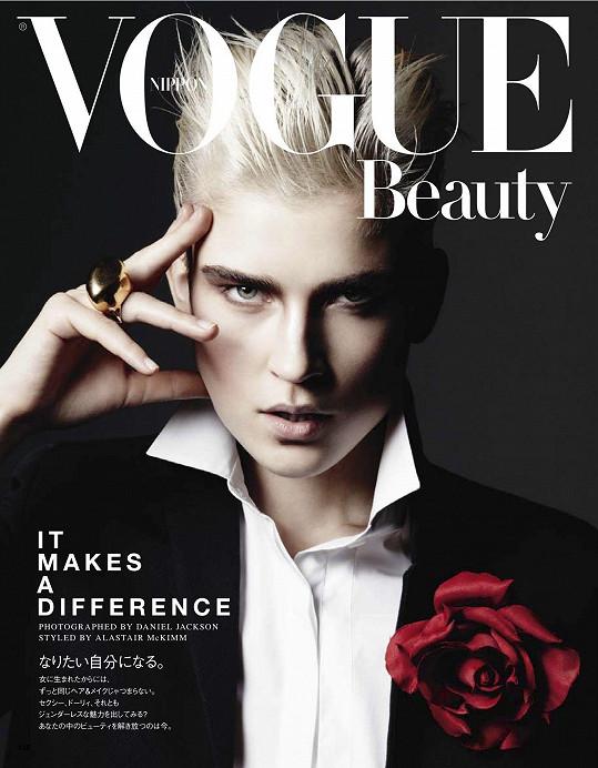 Zde na obálce japonské verze Vogue