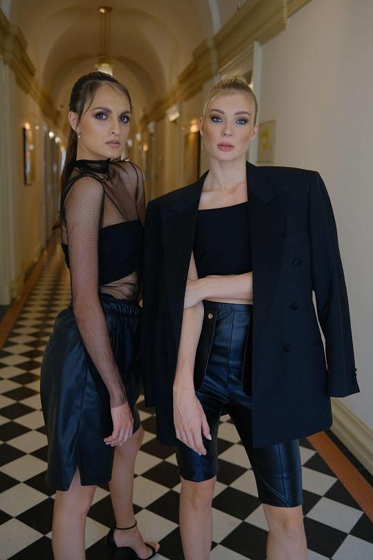 Vznikala zde i fashion story s Petrou Ficovou.