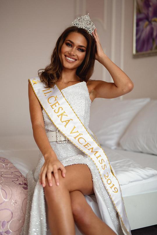 Karolína odlétá v lednu na světovou soutěž Miss Global.
