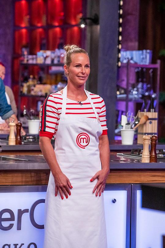 Jejím koníčkem je také vaření, své dovednosti předvede v MasterChefovi.