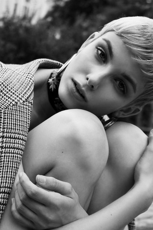 Sára působí v agentuře Czechoslovak Models.