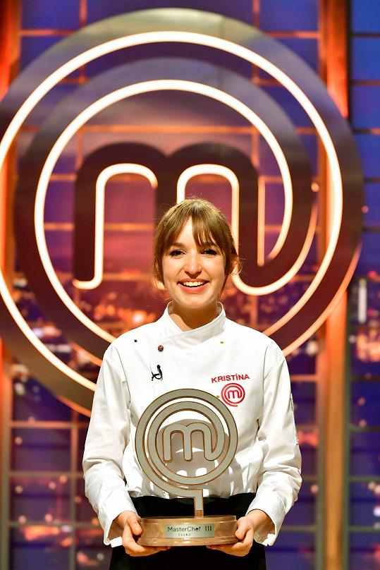 Kristína Nemčková se stala vítězkou MasterChefa 2019.