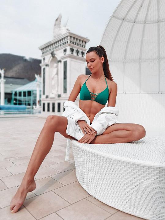 Nikol vyrazila relaxovat na Slovensko