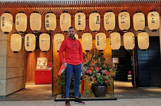Nový rok přivítal v Japonsku.