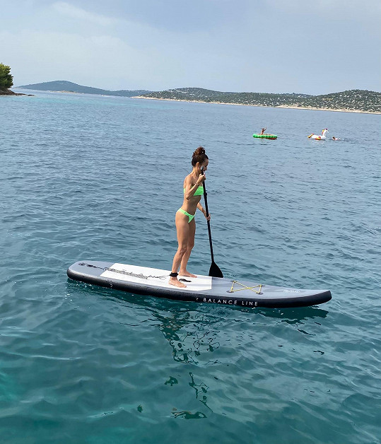 Užila si dovolenou v Chorvatsku.