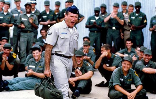 Williamsův první velký úspěch v dramatu Dobré ráno, Vietname