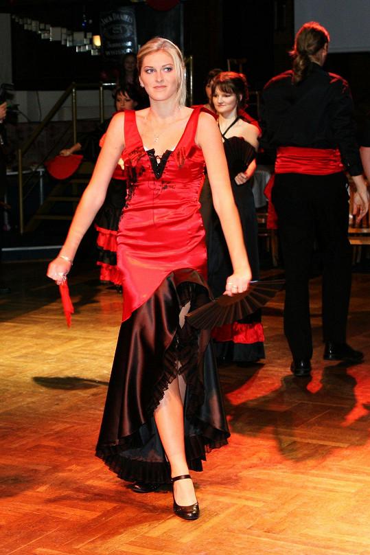 Zorka Hejdová se pochlubila fotkami z maturitního plesu.