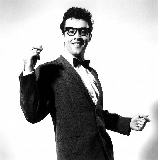 Buddy Holly je jedním z otců rokenrolu.