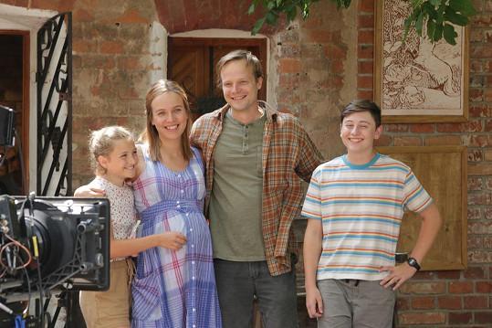 Tereza Ramba natáčela 3Bobule už v pokročilém stádiu těhotenství.