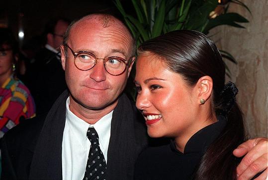 Phil Collins a Orianne Cevey