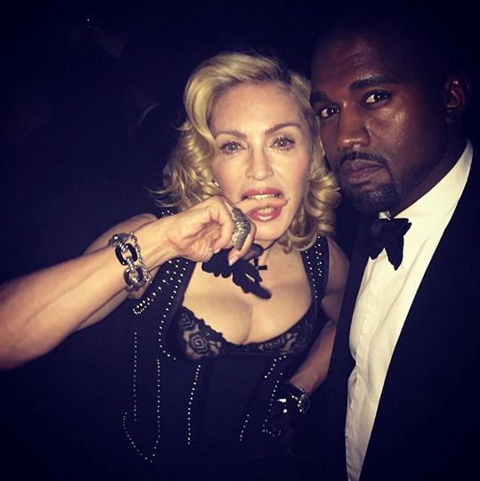 Madonna s Kanyem Westem