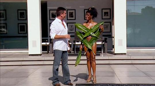 V roce 2009 pro změnu přišla v listech palmy.