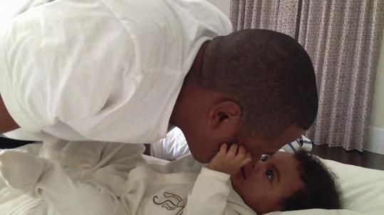 Jay-Z a jeho miláček Blue Ivy