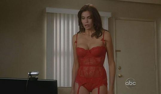 V seriálu Zoufalé Manželky měla Teri Hatcher spoustu pikantních scén.