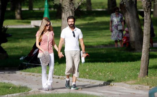 Antonio se svou láskou k Nicole už dávno netají.