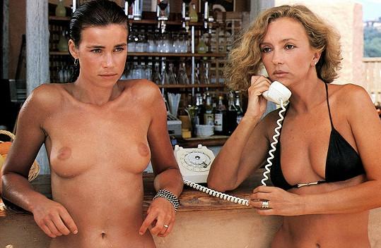 I ve filmu Rok medúzy (1984) Valérie ukazovala své přírodní bohatství.