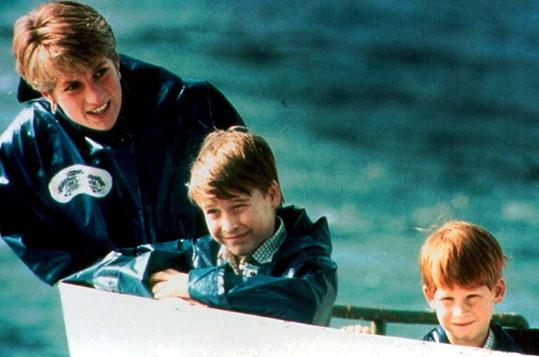Princezna Diana odkázala většinu svého majetku synům.