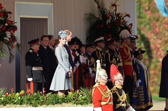 Jednalo se o první oficiální událost, které se vévodkyně od oznámení radostné zprávy účastnila.