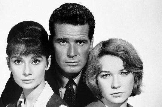 S Audrey Hepburn a Shirley MacLaine ve filmu Dětská hodinka (1961)