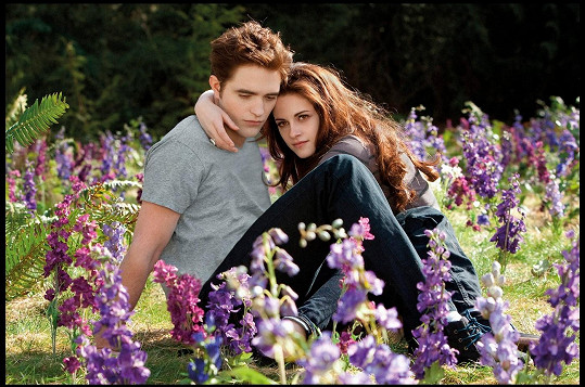 Robert a Kristen v závěrečném dílu ságy Twilight
