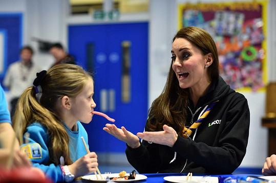 Děti vévodkyni Kate milují.