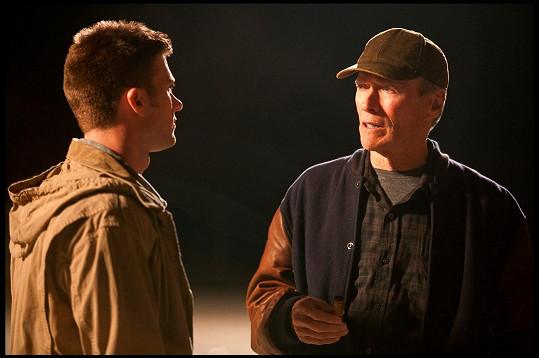 Scott a Clint Eastwoodovi ve filmu Zpátky ve hře