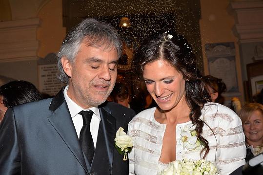 Andrea Bocelli a Veronica Berti