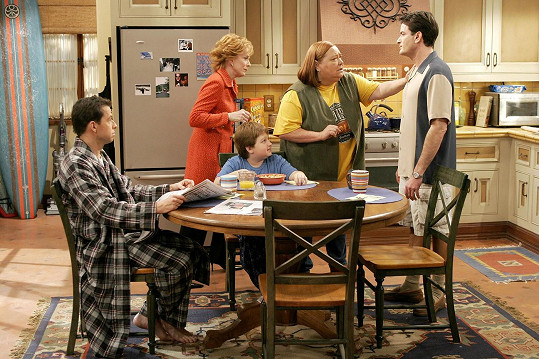 Ferrell je už řadu let nedílnou součástí seriálu Dva a půl chlapa.