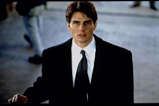 Tom Cruise před dvaceti lety ve filmu Sydney Pollacka Firma.