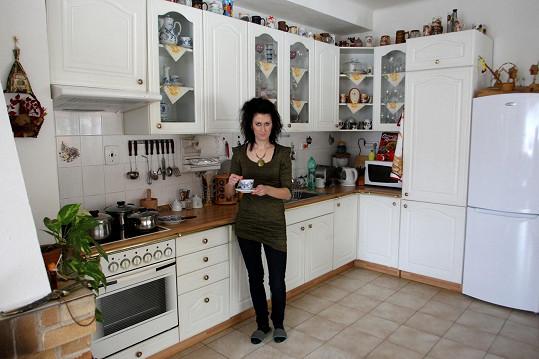 V kuchyni vládne paní Monika.