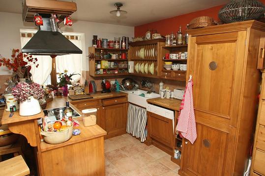 V této kuchyni kraluje Světlana Nálepková.