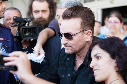 Nechyběl ani Bono Vox.