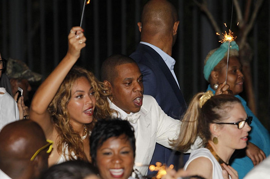 Mejdan si nenechala ujít ani slavnější sestra Beyoncé a její muž Jay Z.